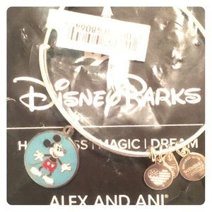 Rare NEW Disney Mickey Alex and Ani never touched